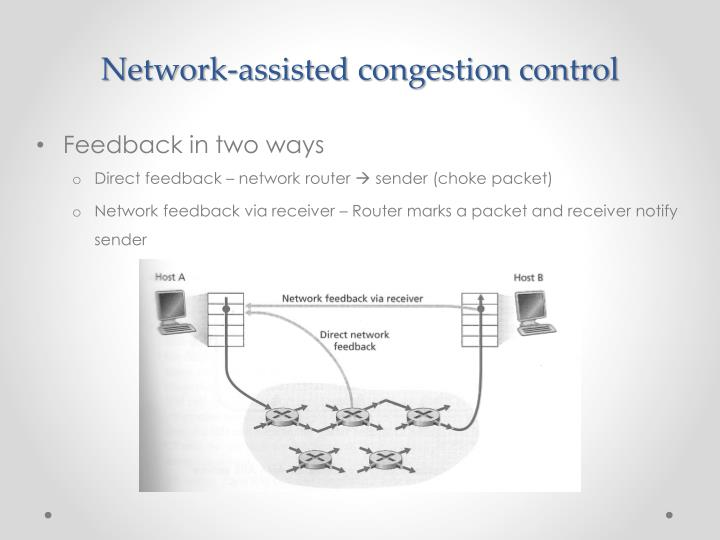 Network-assisted