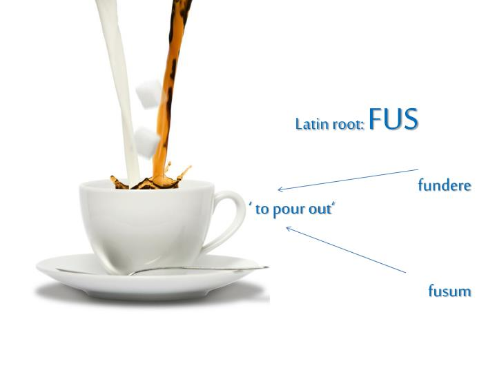 Latin root: