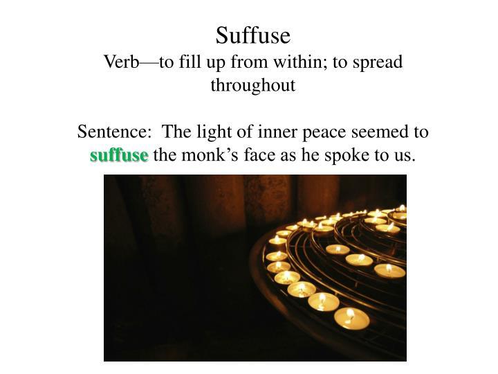 Suffuse