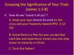 grasping the significance of your trials james 1 2 811