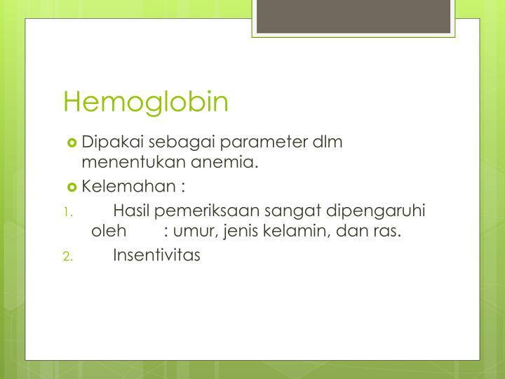 Hemoglobin