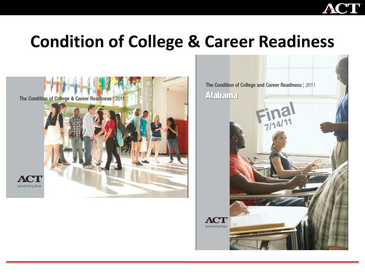 Condition of College & Career Readiness