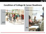 condition of college career readiness