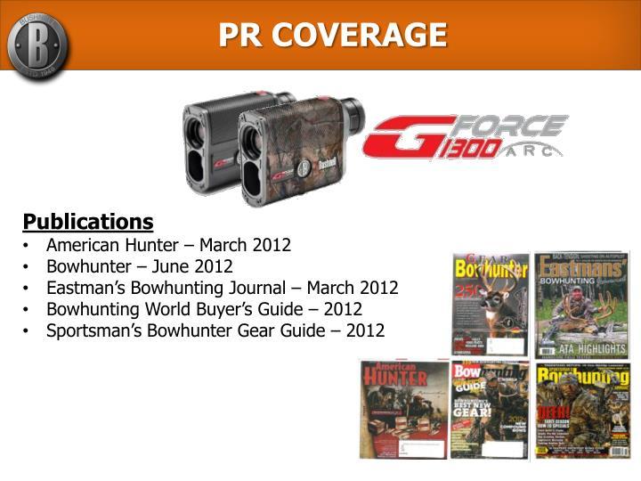 PR COVERAGE