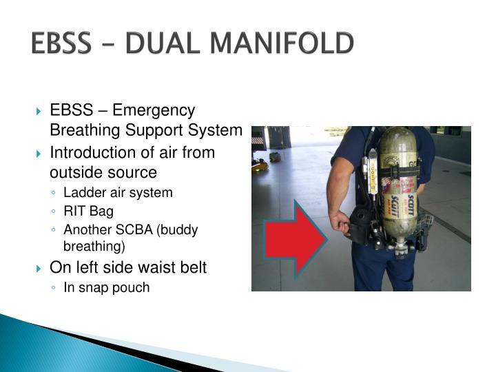 EBSS – DUAL MANIFOLD