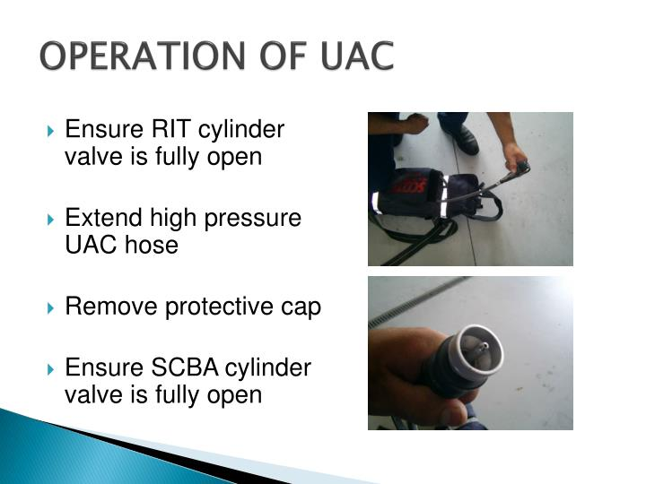 OPERATION OF UAC