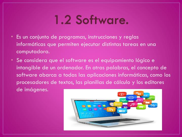 1.2 Software.
