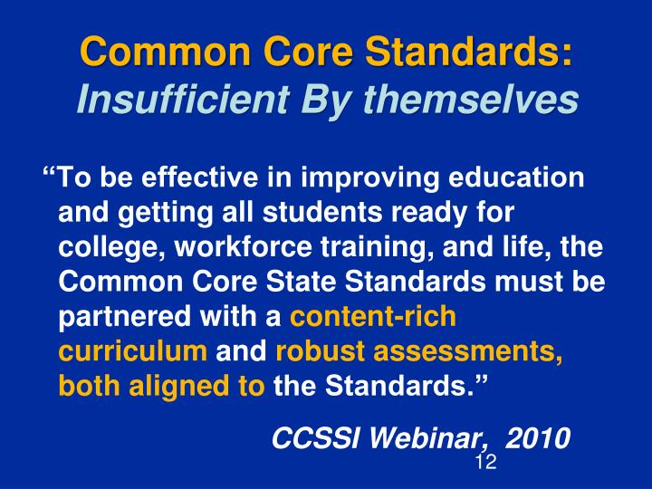 Common Core Standards