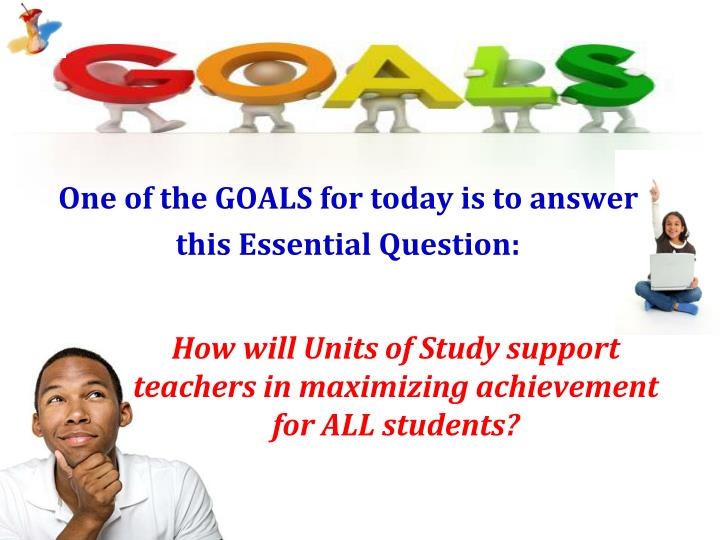 How will Units of Study support teachers in maximizing achievement for ALL students?