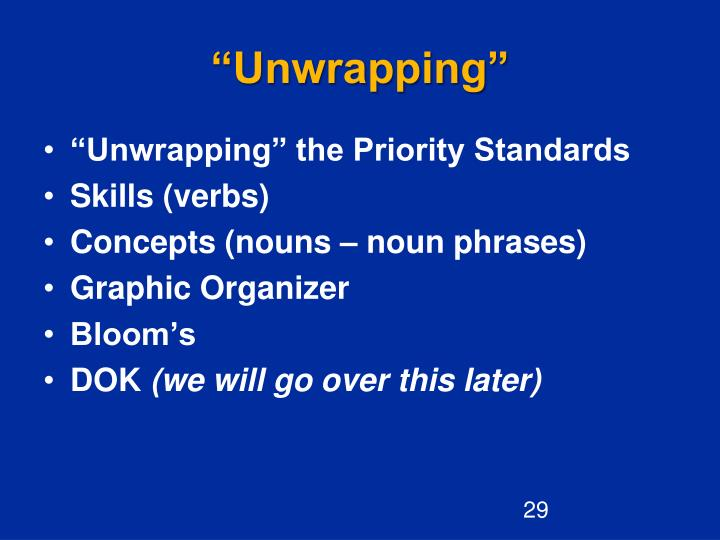 """Unwrapping"""