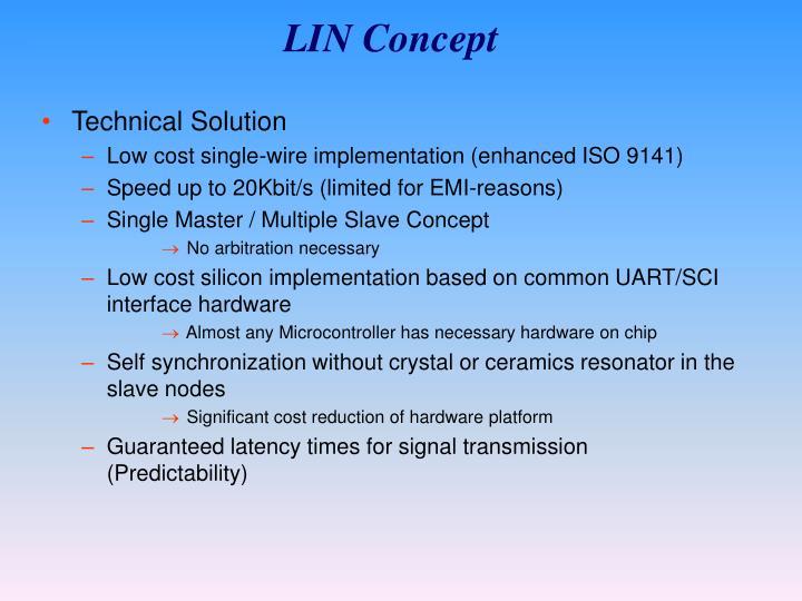 LIN Concept