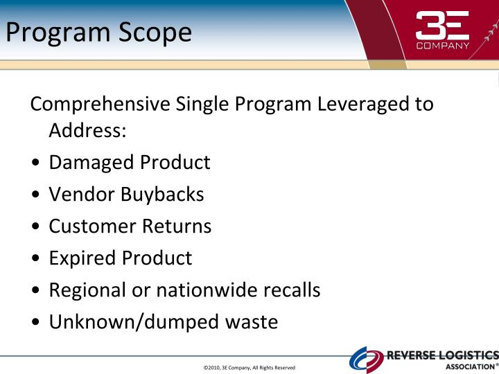 Program Scope