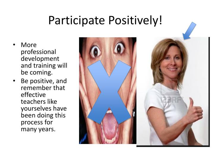 Participate Positively!