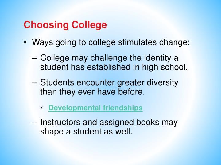 Choosing College