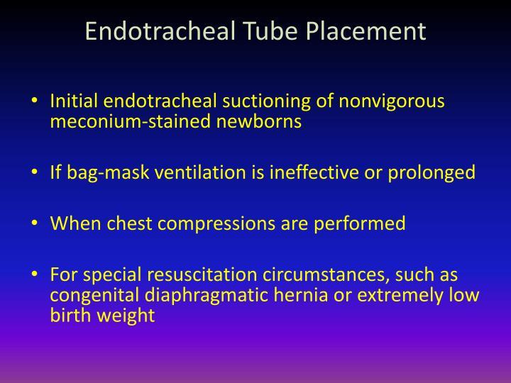 Endotracheal