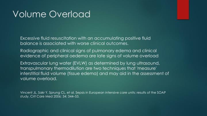 Volume Overload