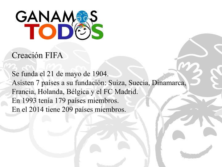 Creación FIFA