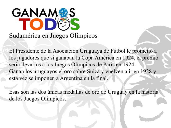 Sudamérica en Juegos Olímpicos