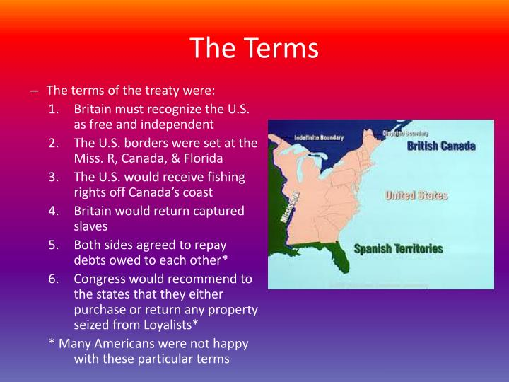 The Terms