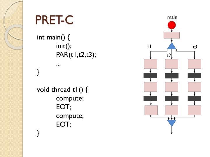PRET-C