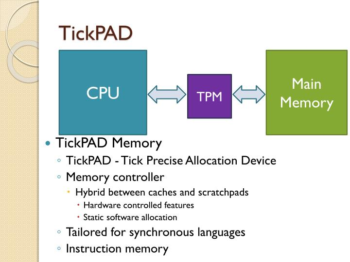 TickPAD