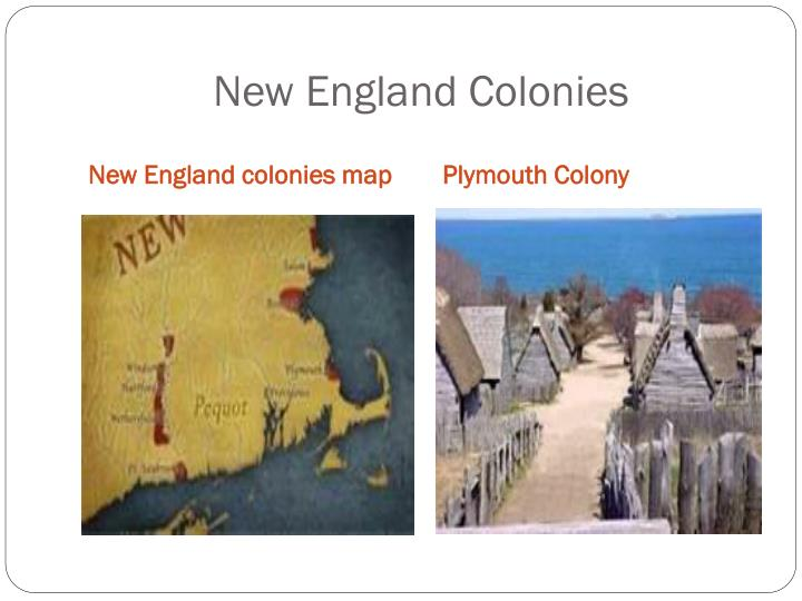 Ppt English Colonies In North America Powerpoint