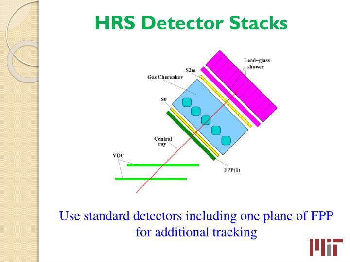 HRS Detector Stacks