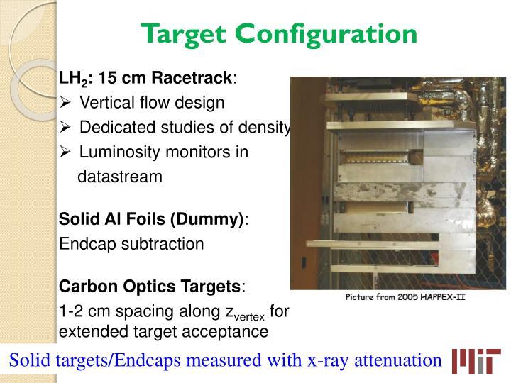 Target Configuration