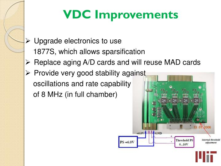 VDC Improvements