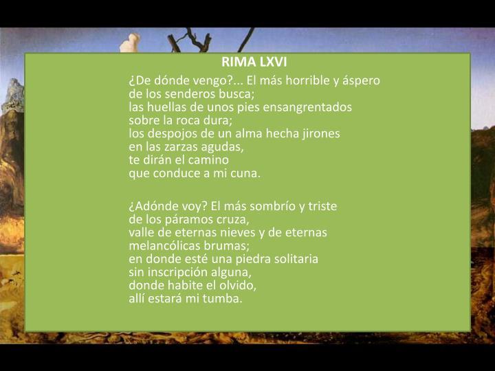 RIMA LXVI