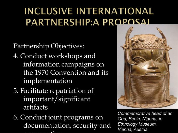 INCLUSIVE INTERNATIONAL PARTNERSHIP:A PROPOSAL