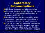 laboratory demonstrations
