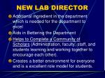 new lab director1