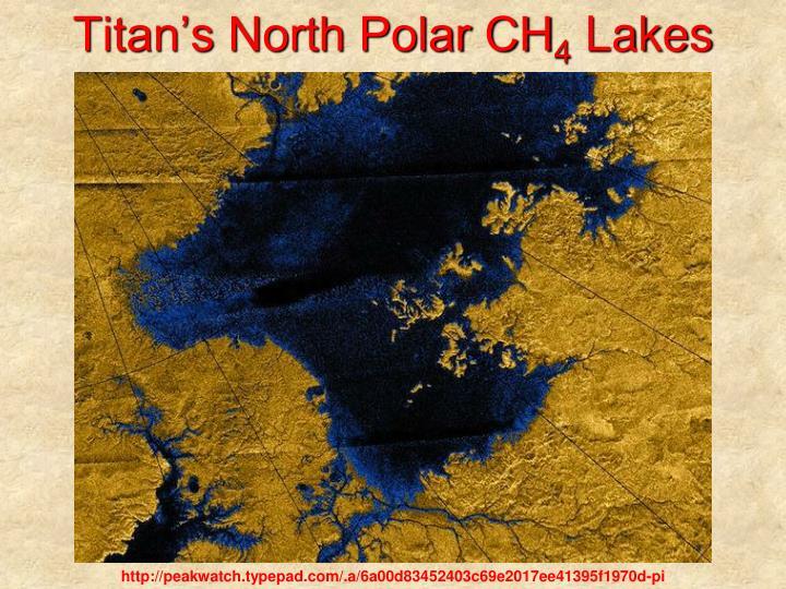 Titan's North Polar CH