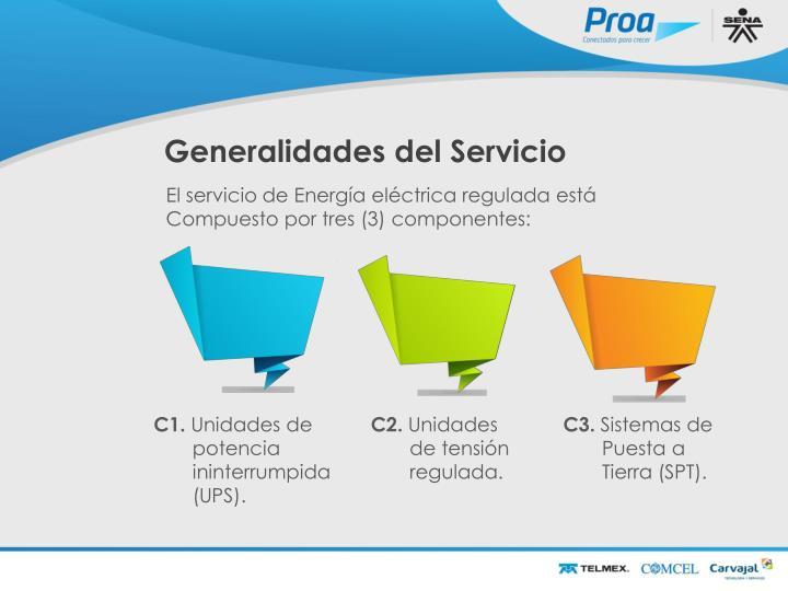 Generalidades del Servicio