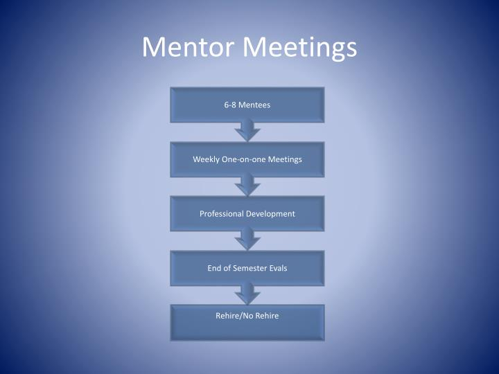 Mentor Meetings