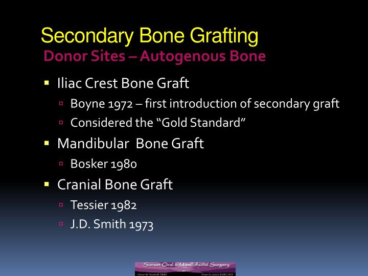secondary bone grafting in alveolar clefts thesis 42210 palatoplasty for cleft palate with bone graft to alveolar ridge (includes obtaining graft)  • note 1: to report a bone graft to an al-veolar cleft as a .