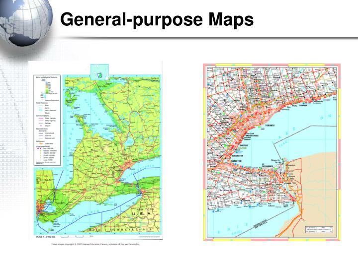 General-purpose Maps