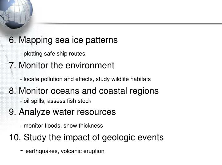 6. Mapping sea ice patterns