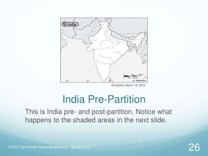 India Pre-Partition