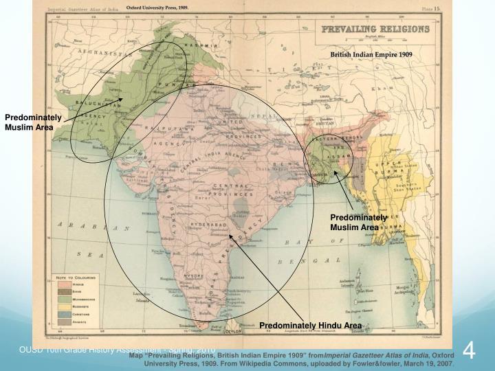 Predominately Muslim Area
