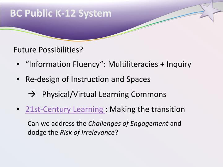 BC Public K-12 System