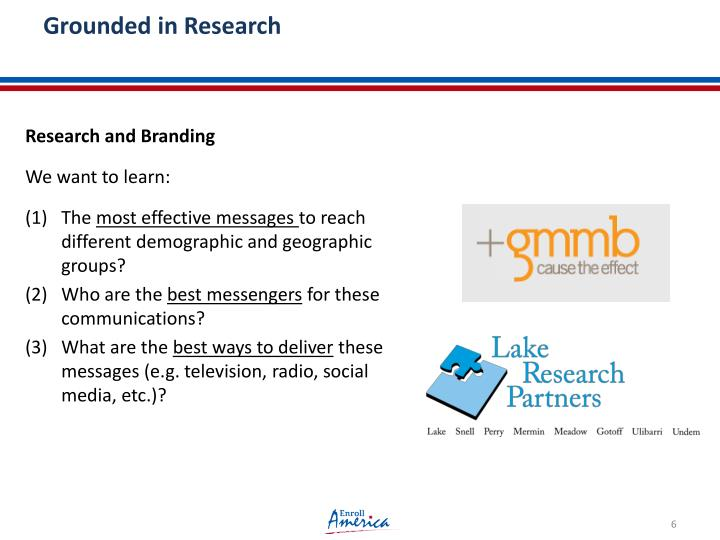 Grounded in Research