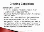creating conditions1