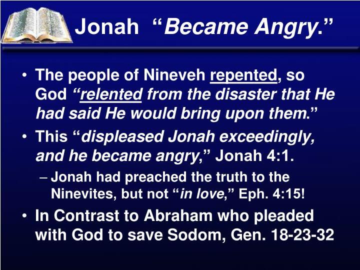 """Jonah  """""""