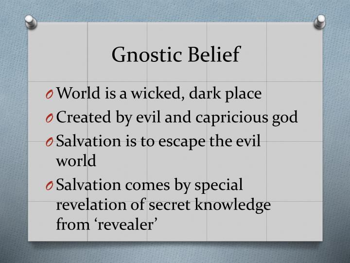 Gnostic Belief