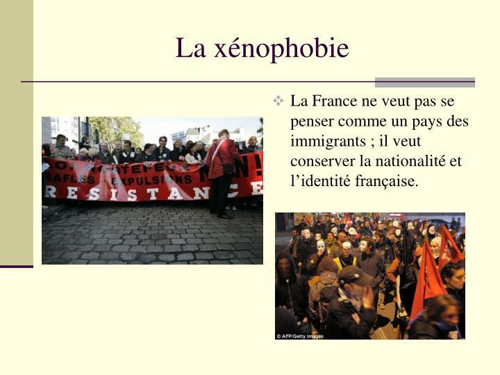 La xénophobie