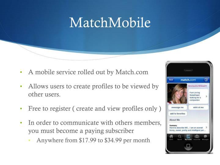 MatchMobile
