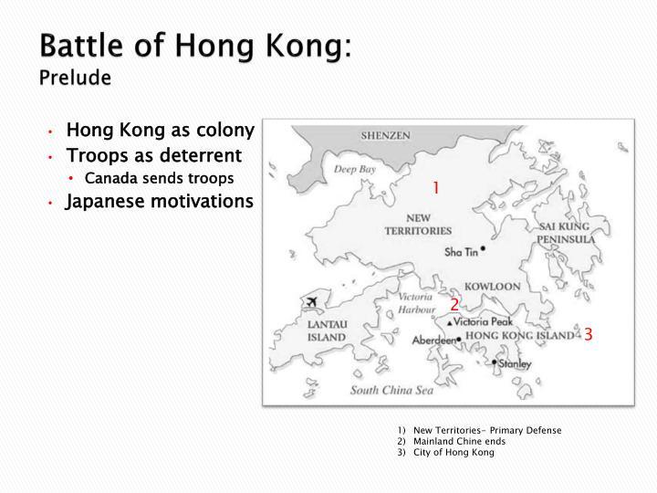 Battle of Hong Kong:
