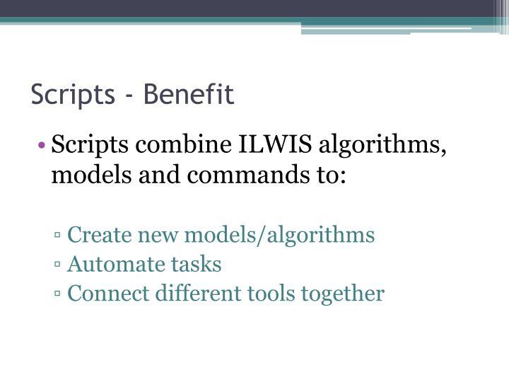 Scripts - Benefit